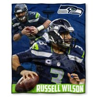 """Russell Wilson  Seattle Seahawks The Northwest Company 50"""" x 60"""" Silk Touch Throw - No Size"""
