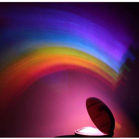 Baby Cot Nursery Mobile Toy Rainbow Projector Night Light Starlight -
