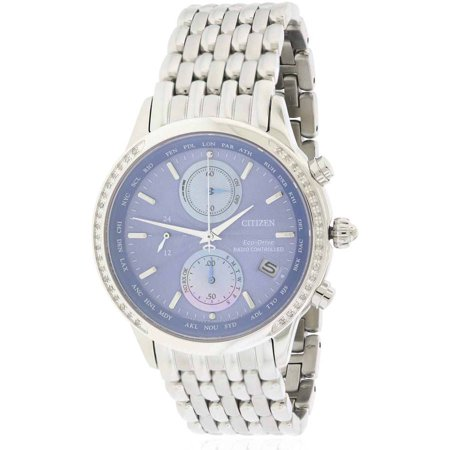 Citizen Eco Drive World Chronograph A T Atomic Womens Watch  Fc5000 51L
