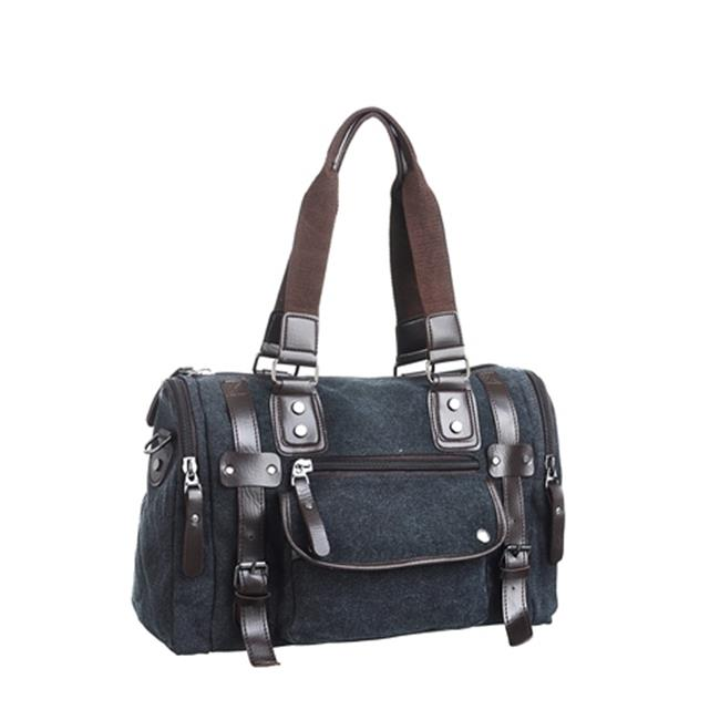 Mad Style 3618A Canvas Duffel - Black