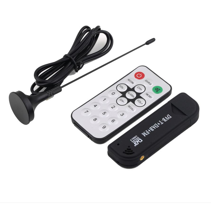 High-performance USB TV Tuner Receiver HDTV FM TV Tuner Receiver Stick Support PC Satellite TV Receiver