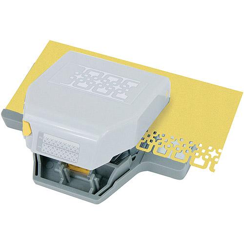 Ek Tools 54-52029 2-in-1 Edger Punch, Interlocking Squares Multi-Colored