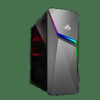Asus ROG Strix G10DK Gaming Desktop with AMD 8 Core Ryzen 7 5700G / 16GB RAM / 1TB HDD & 256GB SSD / Windows 10 / 8GB Video (Gray)