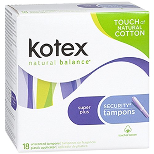 Kotex Super Plus Security Tampons - 18 ct