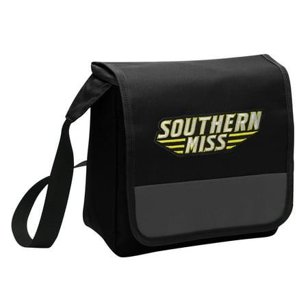 Southern Miss Lunch Bag Stylish OFFICIAL USM Golden Eagles Lunchbox Cooler for School or Office - Men or