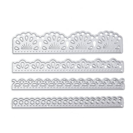 4 Piece Dies Set - All clearance 4 Pcs/set 2018 Dies Lace Craft Die for Scrapbooking Wedding DIY Decoration