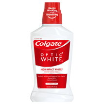 Mouthwash: Colgate Optic White