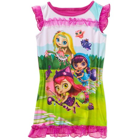 Toddler Girl Short Sleeve Nightgown
