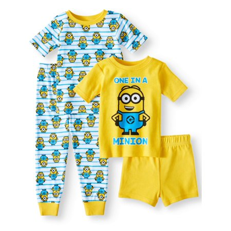 Cotton Tight Fit Pajamas, 4pc Set (Toddler - Discount Toddler Pajamas