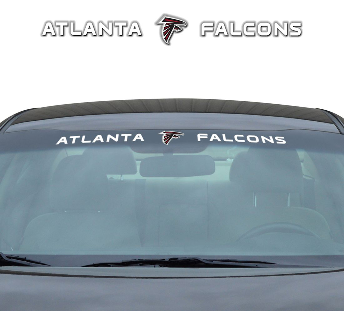"Atlanta Falcons 35""x4"" Windshield Decal by Team Promark"