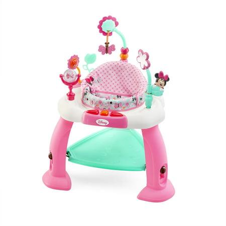 d752bcd16 Disney Baby MINNIE MOUSE Premier Bounce   Bloom Activity Jumper ...
