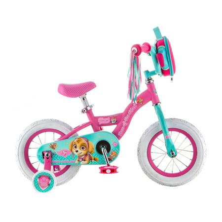 - Nickelodeon Paw Patrol Skye kids bike, 12-inch weel, training wheels, girls, pink