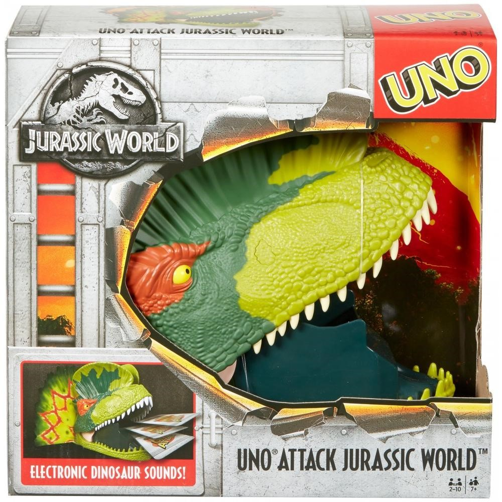UNO Attack! Jurassic World Card Game for 2-10 Players Ages 7Y+ by Uno