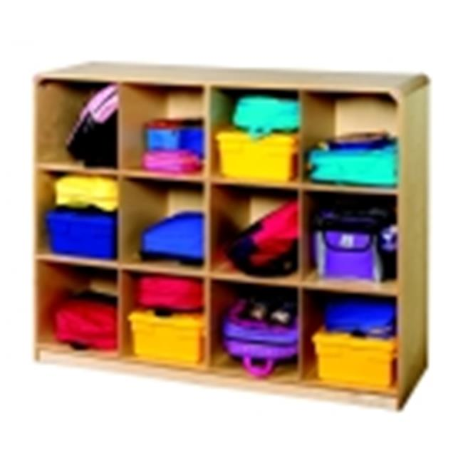 Korners For Kids 12-Section Mobile Cubby Locker
