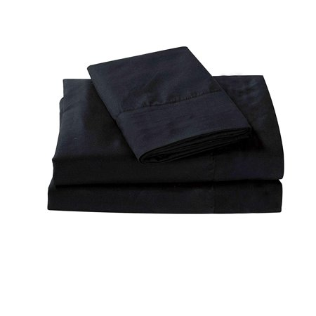 All American Collection New 3 Piece Cozy and Soft High Quality Microfiber Solid Sheet Set