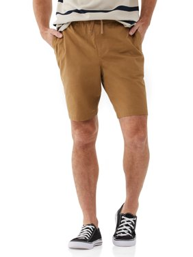 Free Assembly Men's Utility Shorts with E-Waist