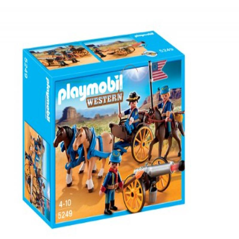 PLAYMOBIL Horse-Drawn Carriage with Cavalry Rider
