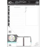 The Happy Planner Big Fill Paper, Floral, Black and White