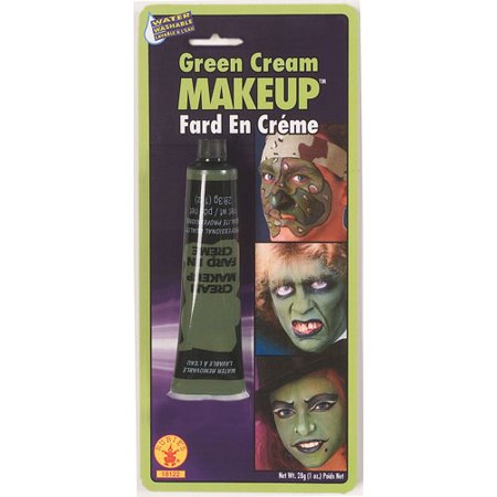 Green Cream Makeup Halloween Costumes and Accessories