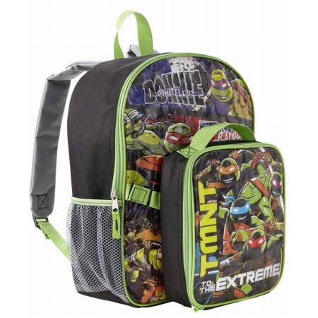 Nickelodeon Teenage Mutant Ninja Turtles Backpack & Lunch Bag](Teenage Mutant Ninja Turtles Backpack For Kids)