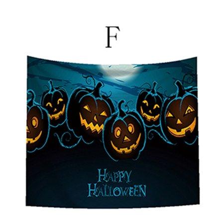 Halloween Movie Themed Pumpkin ((Toponeto) Castle Skull Ghosts Pumpkin Head Halloween Theme)