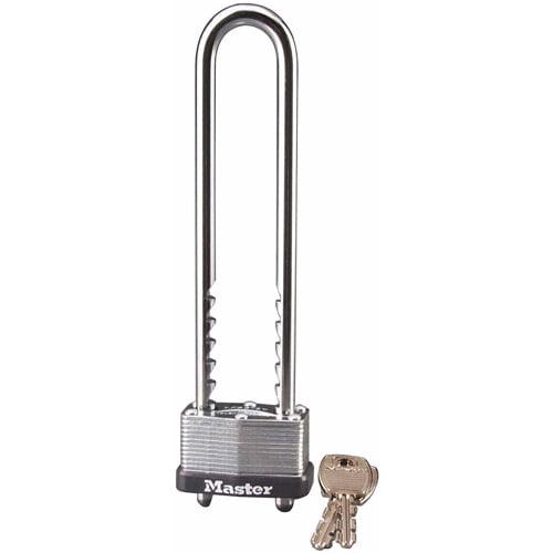 Master Lock 517D Laminated Long Shackle Padlock