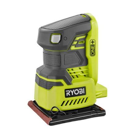 Ryobi 18-Volt ONE+ Cordless 1/4 in. Sheet Sander (Bare-Tool) with Dust Bag - Edger Sander Dust Bag