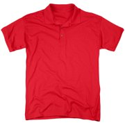 Lucy Keep Calm And Watch (Back Print) Mens Polo Shirt