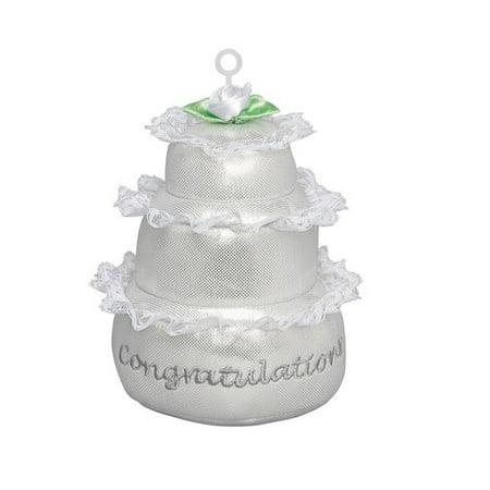 Plush Wedding Cake Balloon Weight for $<!---->