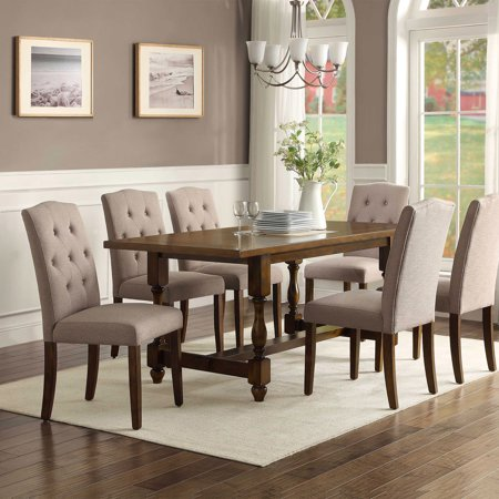 Better Homes And Gardens Providence Upholstered Chair Beige Best Dining Chairs