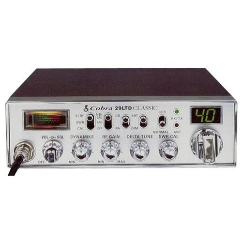 Cobra 29 LTD CB Radio, 40 channel, 4 Watt, Ant. Cal.