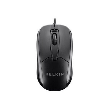 Belkin Wired Ergonomic Mouse - Mouse - Optical - 3 Buttons - Wired - Usb - B2b