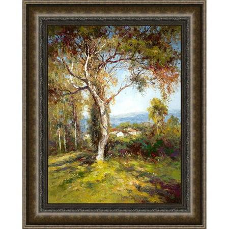 Somerset House Publishing 5149 Mediterranean Light, Framed Textured Fine Art Print