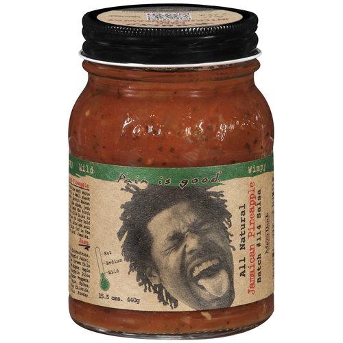 Pain Is Good Batch #114 Jamaican Pineapple Mild Salsa, 15.5 oz