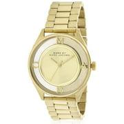 Marc Tether Goldtone Stainless Steel Ladies' Watch