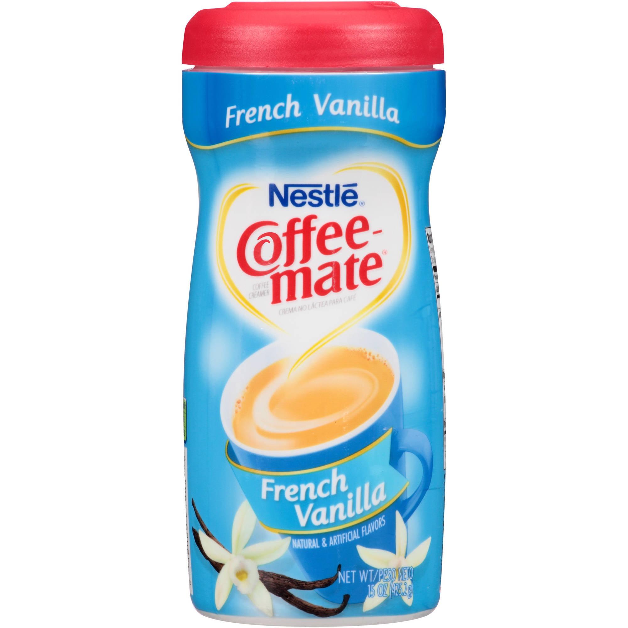 Nestlé Coffee-mate French Vanilla Coffee Creamer 15 oz. Plastic Container