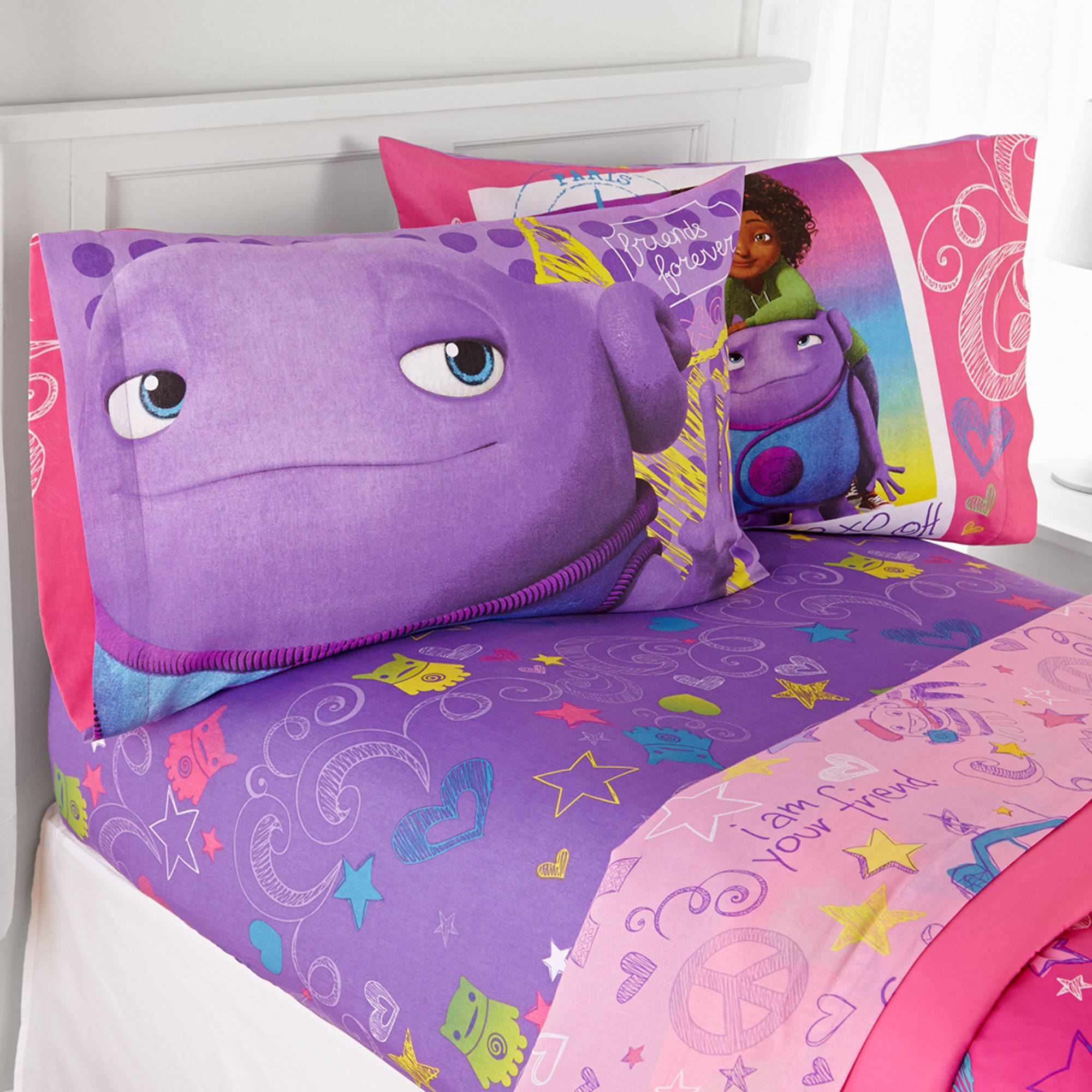 DreamWorks HOME BFF Forever Twin Sheet Set