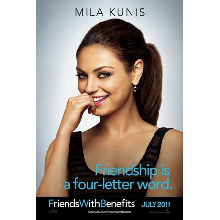 Friends with Benefits (2011) 11x17 Movie Poster