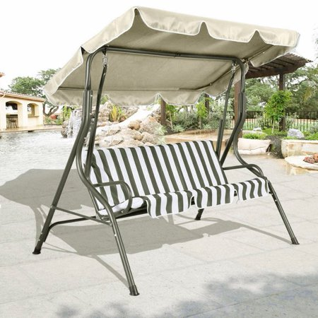 7552inch anti uv outdoor swing chair cover canopy for Uv patio furniture covers