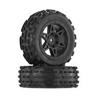 ARRMA AR550015 Sand Scorpion DB Front Tire/Wheel (2 Pack), G
