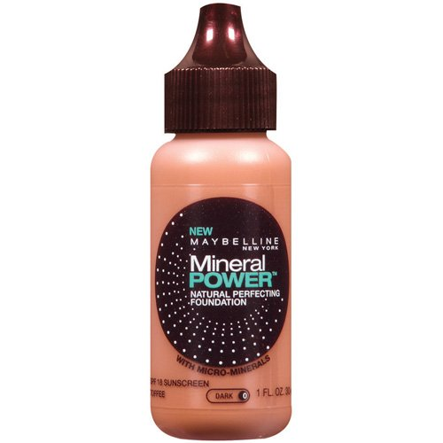 Maybelline Mineral Power Natural Perfecting Foundation, SPF 18
