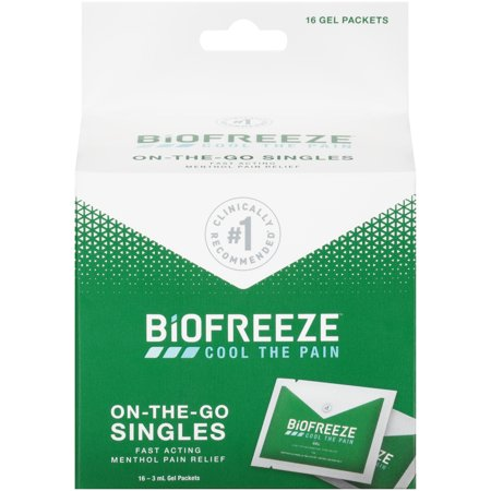 Performance Health Biofreeze Pain Relief, 16 ea (Best Over The Counter Pain Patch)