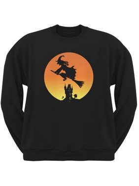 a1810b0f7be Product Image Halloween Witch Sunset Black Adult Sweatshirt