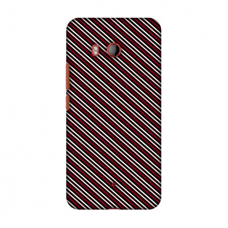 HTC U11 Case, Premium Handcrafted Printed Designer Hard Snap on Shell Case Back Cover with Screen Cleaning Kit for HTC U11 - Love Lines