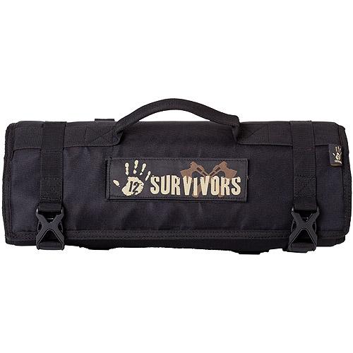 12 Survivors Knife Rollup Kit