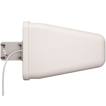 Yagi Directional Roof Antenna 3G/4G/LTE Wide Band 9dBi 800MHz-960MHz and 1.7GHz-2.5GHz Dual Range - Cell Phone Signal Booster Log Periodic Cellular Antenna- TP514