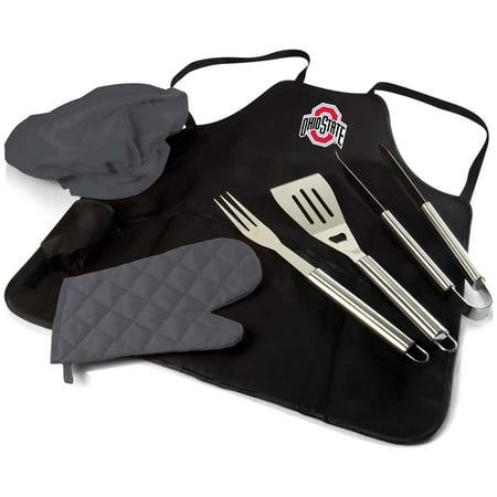 Ohio State BBQ Apron Tote Pro  (Black)