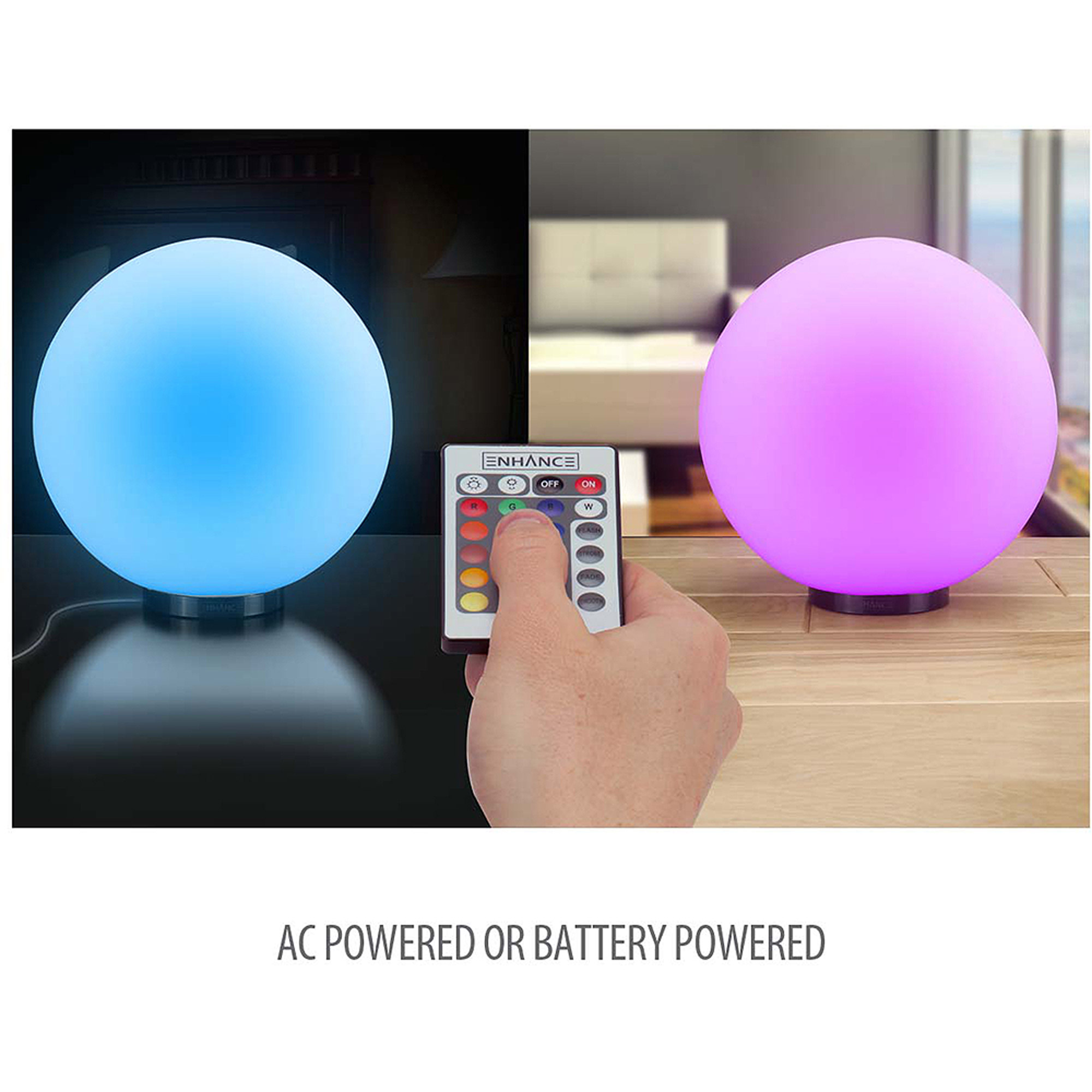 "ENHANCE Color Changing Children's 5.9"" LED Mood Lamp Night Light with 4 Lighting Modes & Battery or AC Adapter... by Accessory Power"