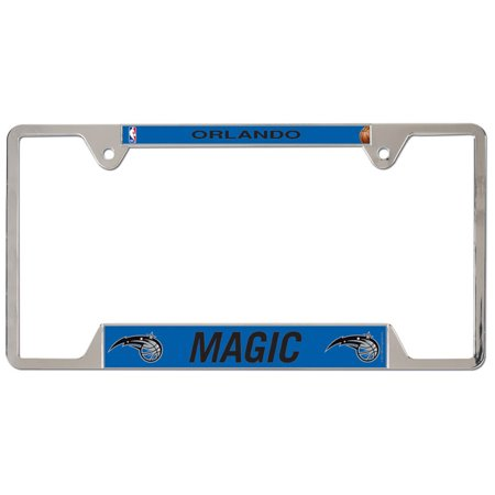 Primary Metal (Orlando Magic WinCraft Primary Logo Metal License Plate Frame - No Size)