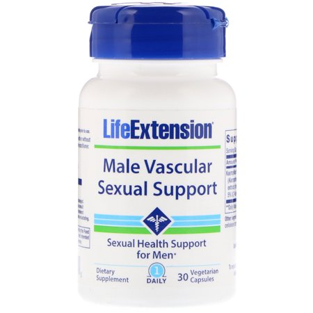 Life Extension  Male Vascular Sexual Support  30 Vegetarian